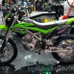 Kawasaki KLX 150BF side at 2015 Thailand Motor Expo