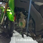 Kawasaki Z125 Pro green gear shifter at 2015 Thailand Motor Show