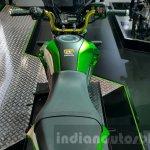 Kawasaki Z125 Pro green seat at 2015 Thailand Motor Show