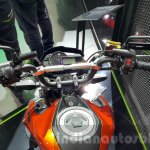 Kawasaki Z125 Pro orange handlebar at 2015 Thailand Motor Show