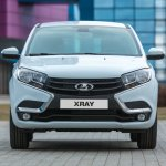 Lada XRAY front grille press image