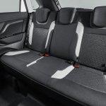 Lada XRAY rear seat press image