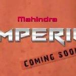 Mahindra Imperio coming soon teaser