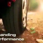 Mahindra Imperio tyre teaser