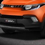 Mahindra KUV100 bumper official