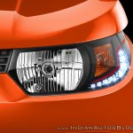 Mahindra KUV100 headlight with DRL