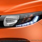 Mahindra KUV100 headlight