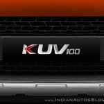 Mahindra KUV100 logo official