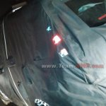 Mahindra Reva e2o 4-door version rear quarter spied