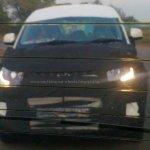 Mahindra S101:KUV100 LED DRL spied
