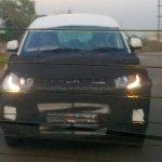 Mahindra S101:KUV100 front fascia spied