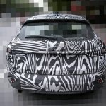 Mazda CX-4 rear spied
