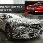 Mazda Koeru-based CX-4 front quarter low snapped