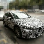 Mazda Koeru-based CX-4 front quarter snapped