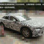 Mazda Koeru-based CX-4 front three quarter (1) snapped