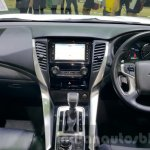 Mitsubishi Pajero Sport dashboard at 2015 Thai Motor Expo