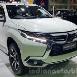 Mitsubishi Pajero Sport front three quarters at 2015 Thai Motor Expo