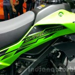 New Kawasaki D-Tracker 150 body panel at 2015 Thailand Motor Expo
