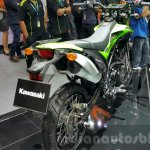 New Kawasaki D-Tracker 150 exhaust at 2015 Thailand Motor Expo