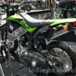 New Kawasaki D-Tracker 150 rear quarter at 2015 Thailand Motor Expo