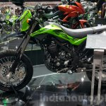 New Kawasaki D-Tracker 150 side at 2015 Thailand Motor Expo