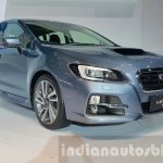 Subaru Levorg front three quarter view at 2015 Thailand Motor Expo