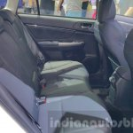Subaru Levorg rear seat at 2015 Thailand Motor Expo