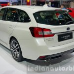 Subaru Levorg rear three quarter at 2015 Thailand Motor Expo