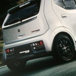 Suzuki Alto Works rear end brochure image