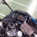 Suzuki Gixxer 250 instrument cluster spied