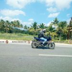 TVS Apache 200 side spied on highway by Madhan