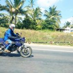 TVS Apache 200 spied on highway by Madhan