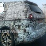 Tata Hexa rear end snapped testing