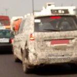 Tata Hexa rear quarter spied on Mumbai Pune Highway by Kunal Choudhary
