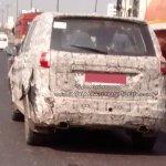 Tata Hexa twin exhaust spied on Mumbai Pune Highway by Kunal Choudhary