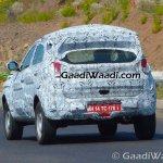 Tata Nexon Tata Osprey rear quarter spied