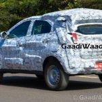 Tata Nexon Tata Osprey rear quarters spied