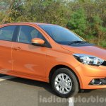 Tata Zica Revotorq diesel front three quarters Review