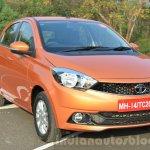 Tata Tiago front quarter Revotorq diesel Review