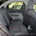 Tata Zica rear seat legroom Revotorq diesel Review