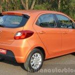 Tata Zica rear three quarter Revotorq diesel Review