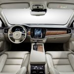 Volvo S90 dashboard unveiled