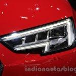 2016 Audi A4 headlamp at Auto Expo 2016