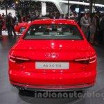 2016 Audi A4 rear at Auto Expo 2016