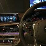 2016 BMW 7 Series center console showcased in Mumbai