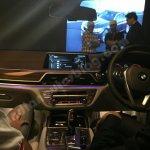 2016 BMW 7 Series dashboard showcased in Mumbai