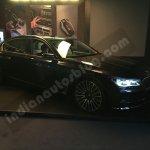 2016 BMW 7 Series front three quarter showcased in Mumbai