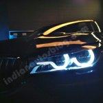 2016 BMW 7 Series headlamp showcased in Mumbai