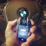 2016 BMW 7 Series Key Fob Showcased In Mumbai
