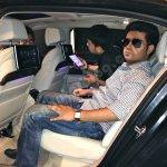 2016 BMW 7 Series rear seat showcased in Mumbai